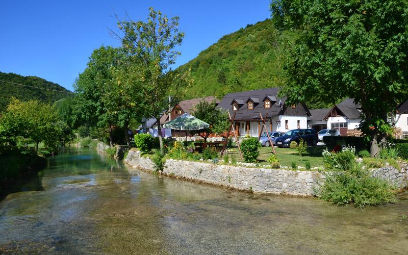 Il villaggio di Korana