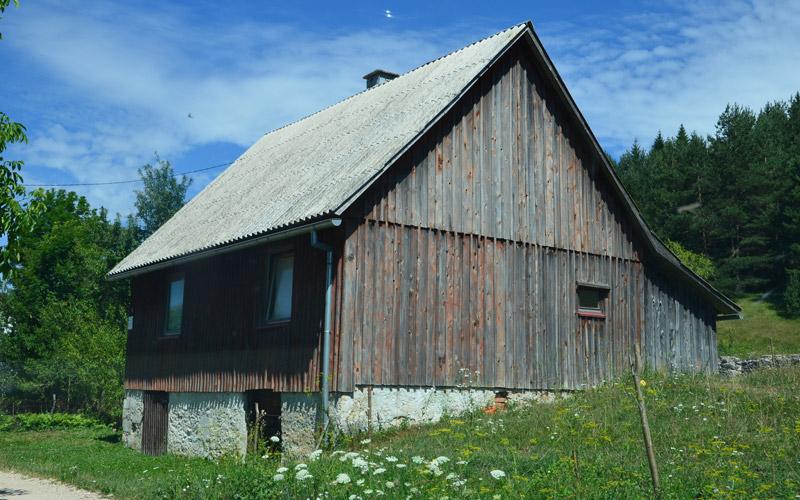 Kuća u Gornjem Babinom Potoku