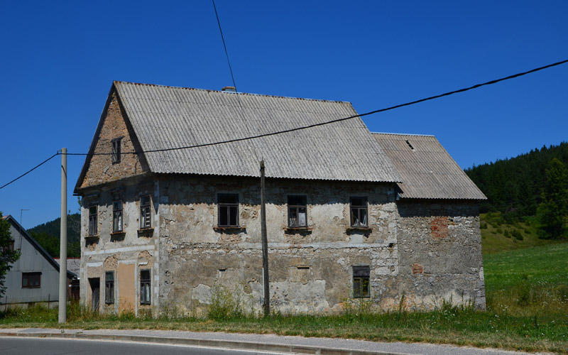 Traditional house in Gornji Babin Potok