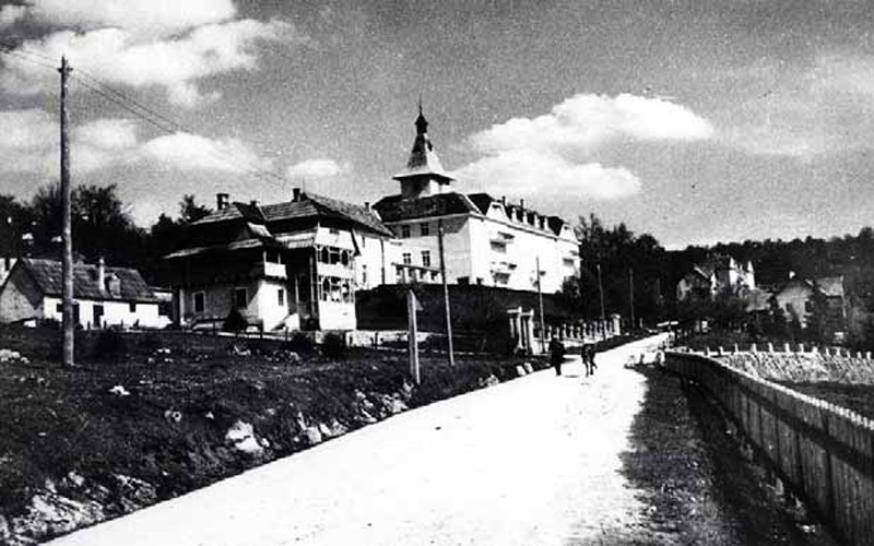 L'hotel Plitvice prima della II guerra mondiale