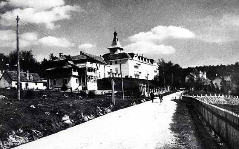 Das Hotel Plitvice vor dem 2. Weltkrieg