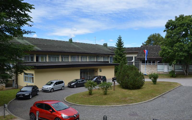 Hotel Plitvice – ingresso