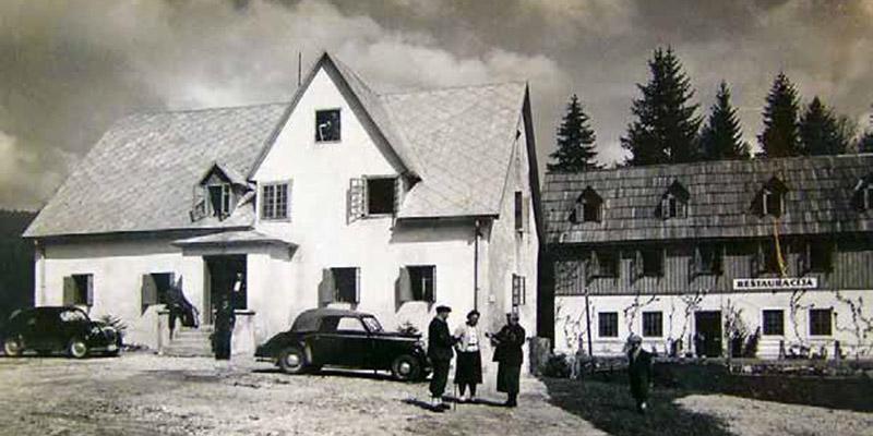 Anwesen des Kaufmanns Devčić am Labudovac