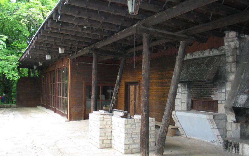 Il ristorante Kozjak nel 2005