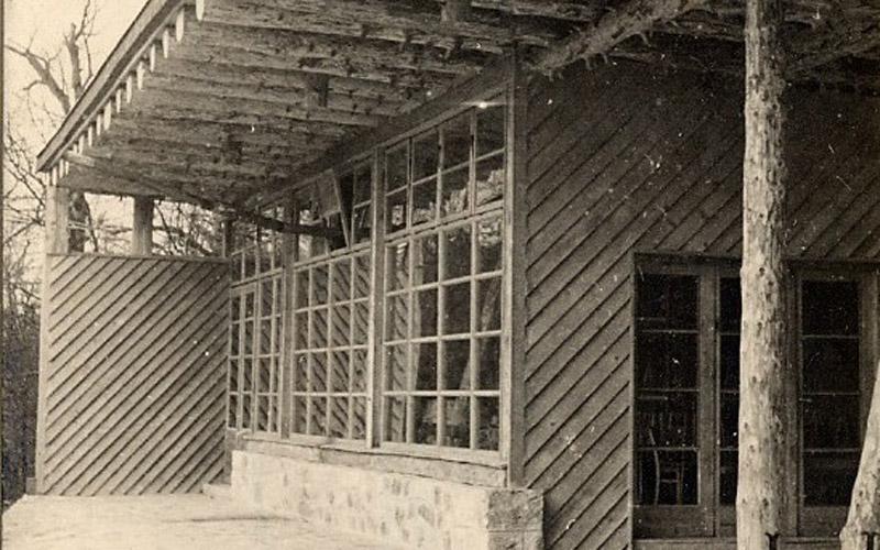 Restoran Kozjak oko 1950.