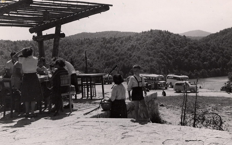 Kozjak restaurant, around 1950