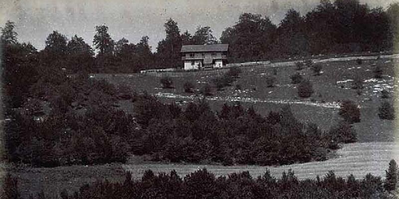 Touristenhaus auf der Velika Poljana