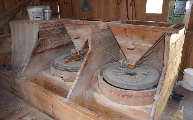 Unutrašnjost mlina u Korani