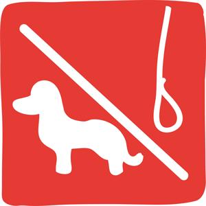Les chiens doivent être tenus en laisse tout le temps