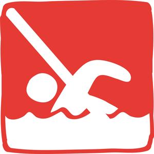 Il est interdit de se baigner sur le territoire du parc national
