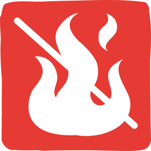 Il est interdit de faire du feu