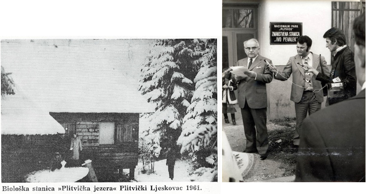 Opening of the Ivo Pevalek Scientific Station (photo, PLNP archive)