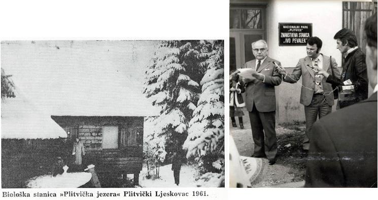 """Eröffnung der wissenschaftlichen Station """"Ivo Pevalek"""" (Foto: Archiv NPPJ)"""