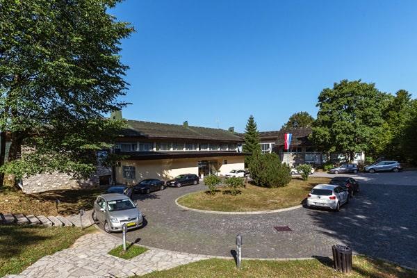 Le restaurant de l'hôtel Plitvice