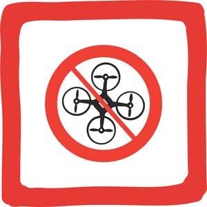 Zabranjeno korištenje drona