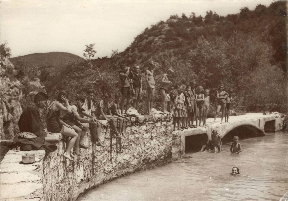 Slika 13. Betonski mostić na Novakovića brodu