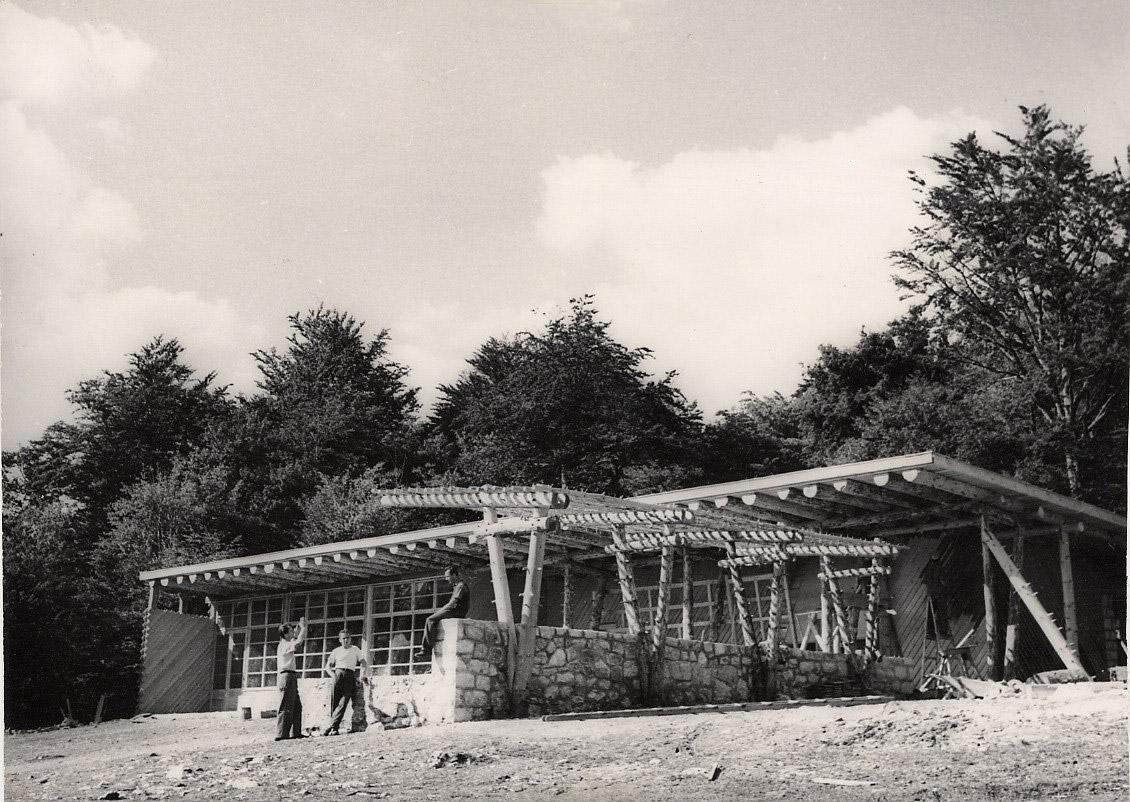 Slika 21. Restoran Kozjak oko 1950.