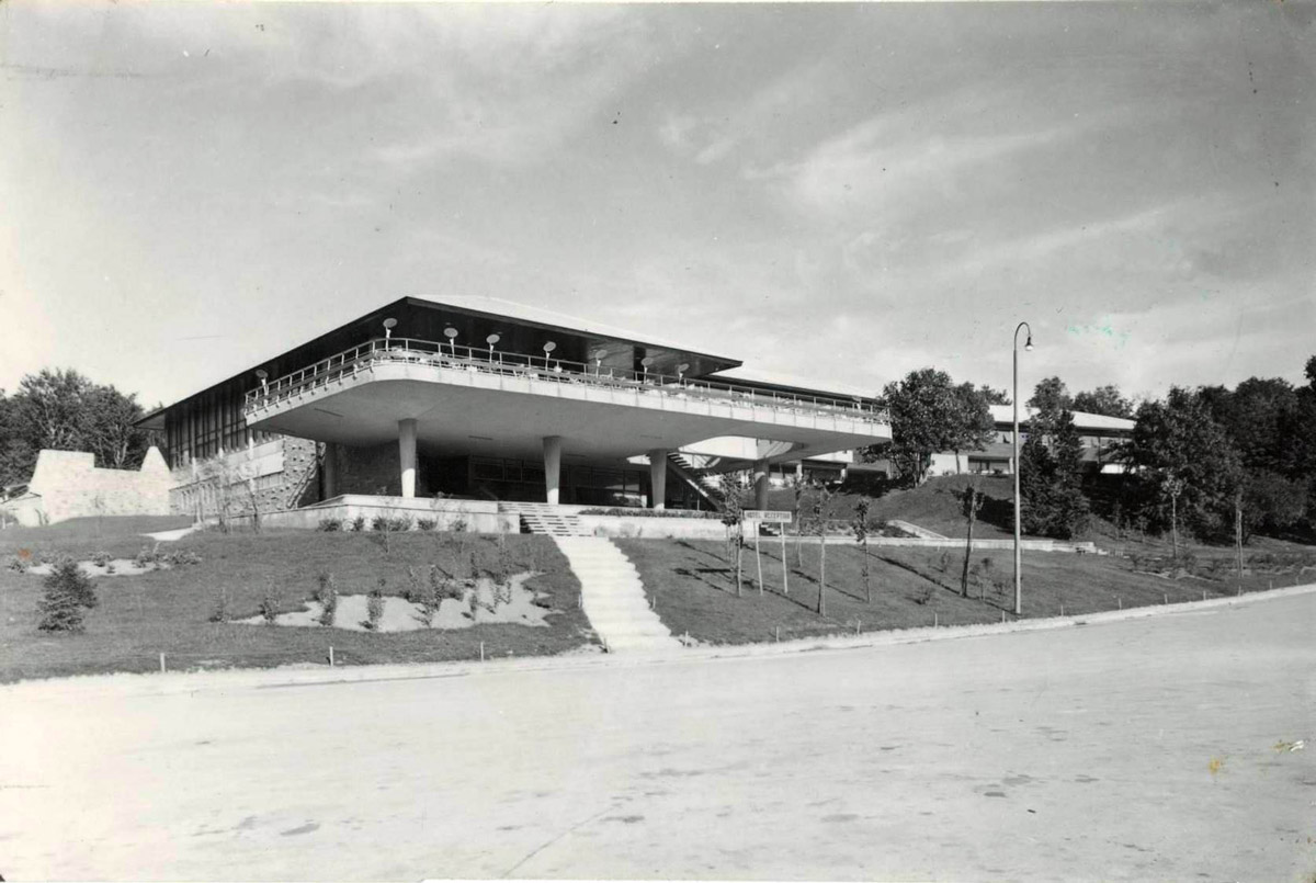 Slika 22. Hotel Plitvice oko 1960.
