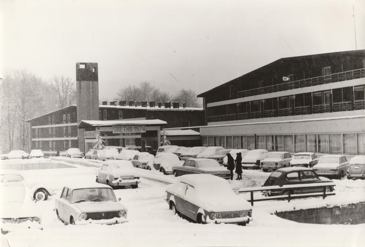 Slika 24. Hotel Jezero 1974.
